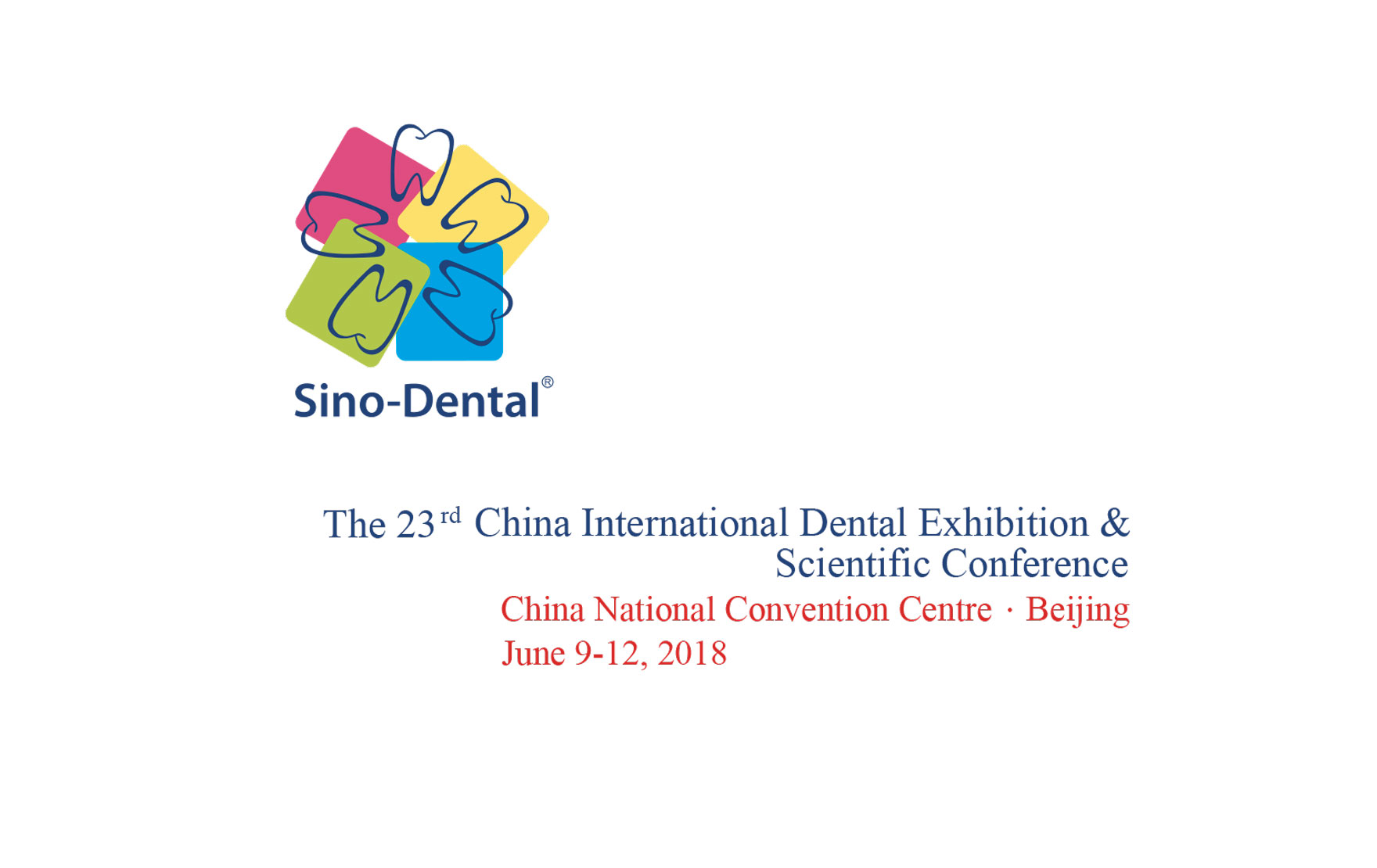 Sino Dental 2018 - Beijing